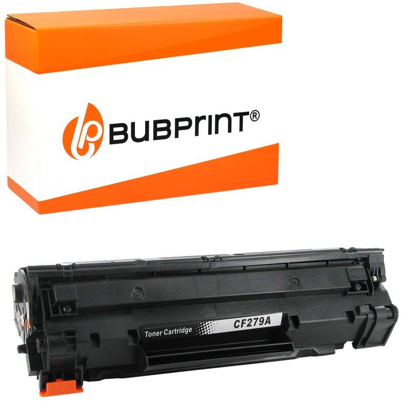 Bubprint Toner kompatibel für HP CF279A black (1000 Seiten) LaserJet Pro M12 M12a M12w M26 M26a M26w