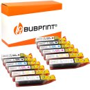 Bubprint 12 Druckerpatronen kompatibel für Canon...