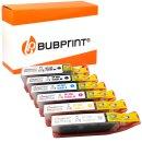 Bubprint 6 Druckerpatronen kompatibel für Canon...