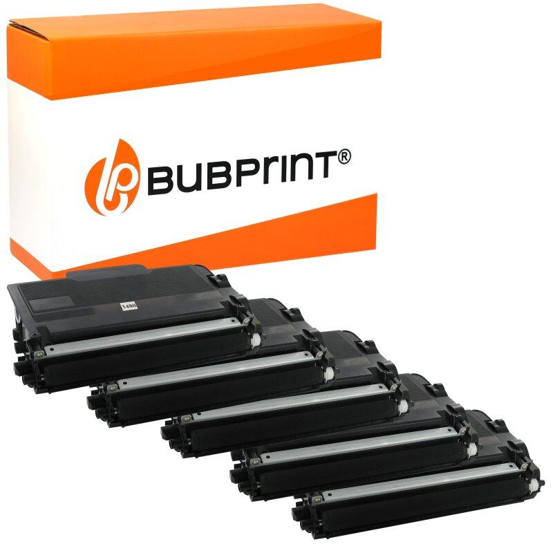 Bubprint 5 Toner kompatibel für Brother TN3480 TN-3480 TN-3430 HL-l5100 HL-l5000 HL-l5200