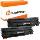 Bubprint 2 Toner kompatibel für HP CF279A black...