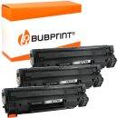Bubprint 3 Toner kompatibel für HP CF279A black...