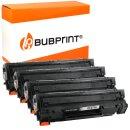 Bubprint 4 Toner kompatibel für HP CF279A black...