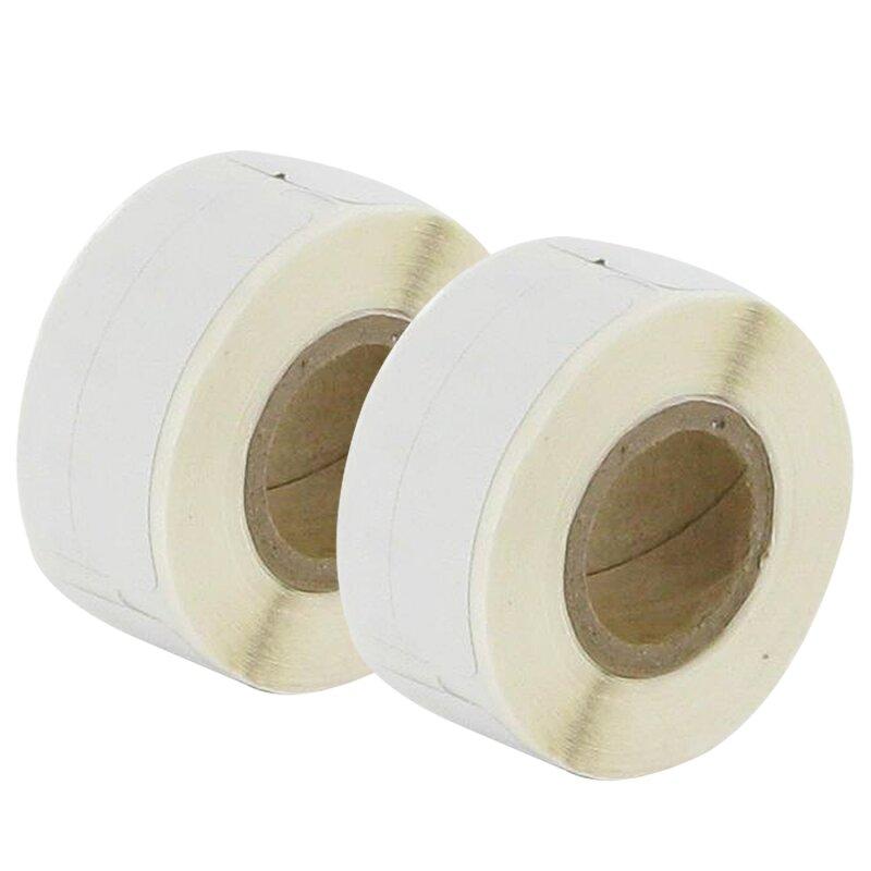 Bubprint 2x Etiketten kompatibel für Dymo 99017 12mm x 50mm (220 stück) Labelwriter 330 Series Labelwriter 450 Series