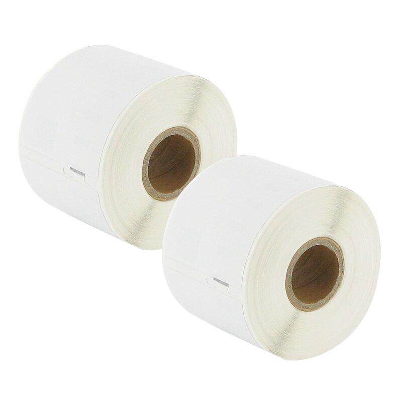 Bubprint 2x Etiketten kompatibel für Dymo 99015 54mm x 70mm (320 Stück) Labelwriter 330 Series Labelwriter 450 Series
