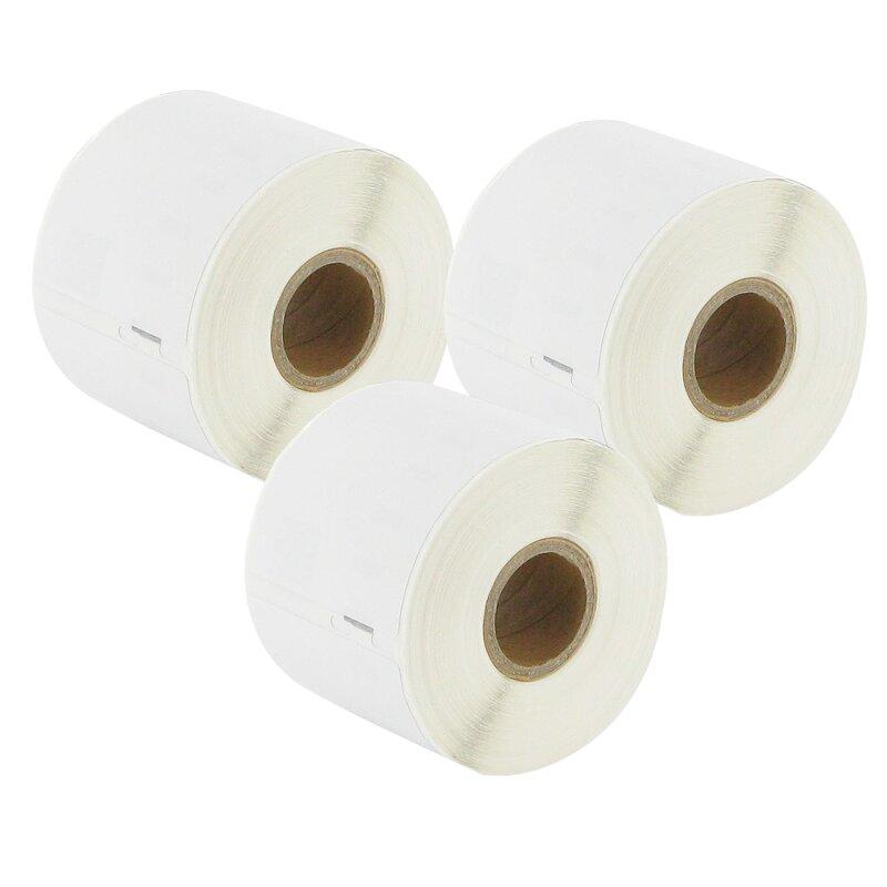 Bubprint 3x Etiketten kompatibel für Dymo 99015 54mm x 70mm (320 Stück) Labelwriter 330 Series Labelwriter 450 Series