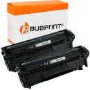 Bubprint 2x Toner Black kompatibel für HP Laserjet...