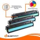 Bubprint 3x Toner kompatibel für HP CF211A - CF213A Cyan Magenta Yellow HP LaserJet Pro 200 Series HP LaserJet Pro 200 color M 276 nw
