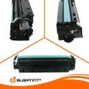Bubprint 3x Toner kompatibel für HP CC531A- CC533A cyan magenta yellow