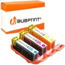 Bubprint 3 Druckerpatronen kompatibel für Canon...