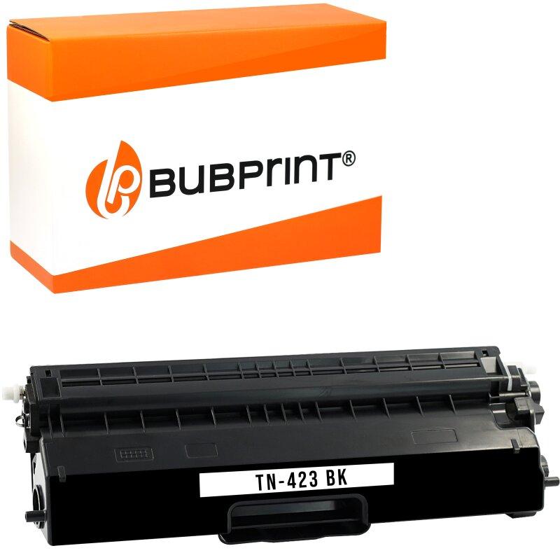 Bubprint Toner kompatibel für Brother TN-423 (6500 Seiten) black HL-L 8360 CDW MFC-L 8690 CDW MFC-L 8900 CDW