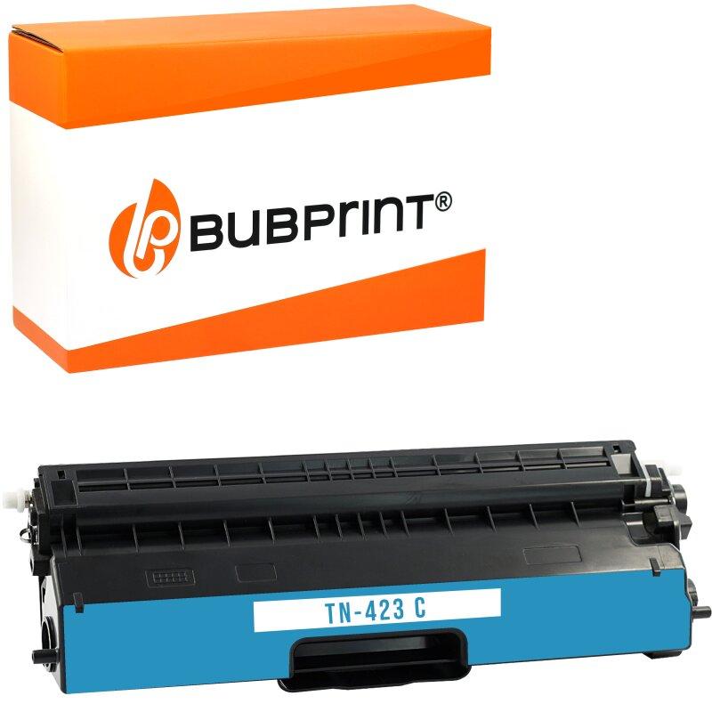 Bubprint Toner kompatibel für Brother TN-423 (4000 Seiten) cyan HL-L 8360 CDW MFC-L 8690 CDW MFC-L 8900 CDW