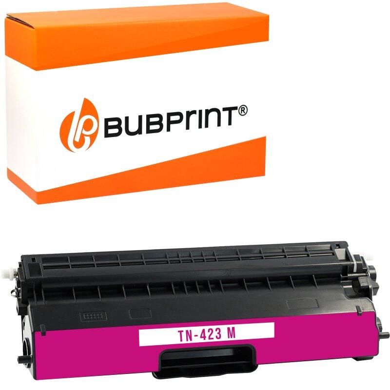 Bubprint Toner kompatibel für Brother TN-423 (4000 Seiten) magenta HL-L 8360 CDW MFC-L 8690 CDW MFC-L 8900 CDW