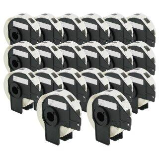 Bubprint 20x Etiketten kompatibel für Brother DK-11221 #1221 23mm x 23mm
