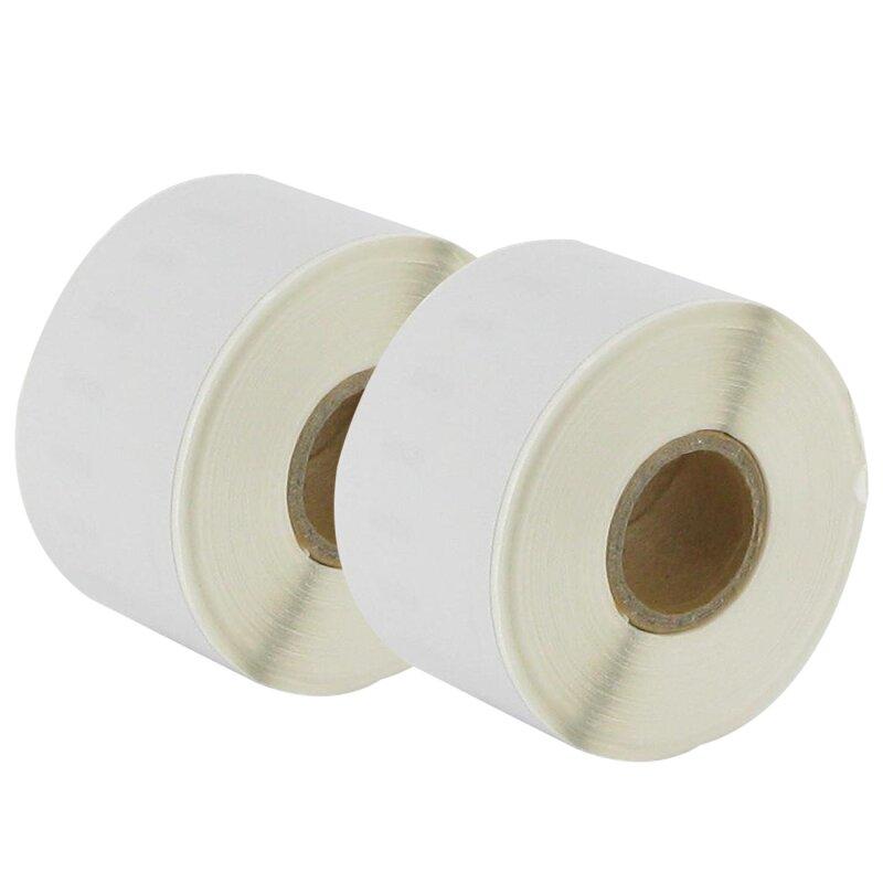 Bubprint 2x Etiketten kompatibel für Dymo 99018 38mm x 190mm (110 Stück) Labelwriter 450 Series Labelwriter 330 Series