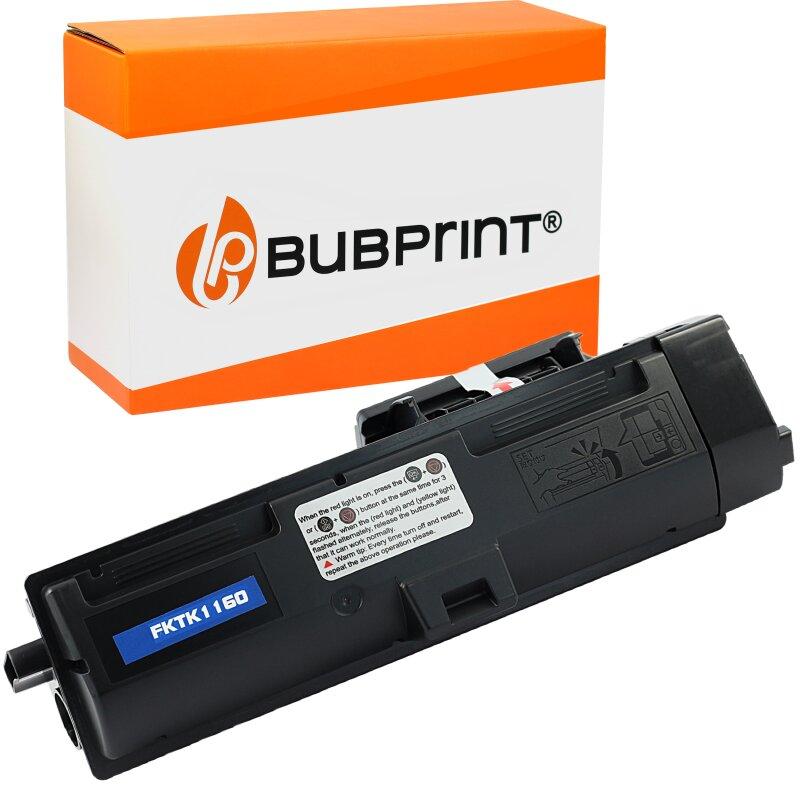 Bubprint Toner kompatibel für Kyocera TK-1160 black (7200 Seiten) Ecosys P2050DN P2040DW
