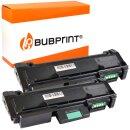 Bubprint 2x Toner black kompatibel für Samsung...
