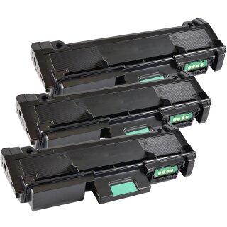Bubprint 3x Toner black kompatibel für Samsung MLT-D116 /ELS MLT-D 116 SL-M 2625