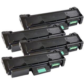 Bubprint 4x Toner black kompatibel für Samsung MLT-D116 /ELS MLT-D 116 SL-M 2625