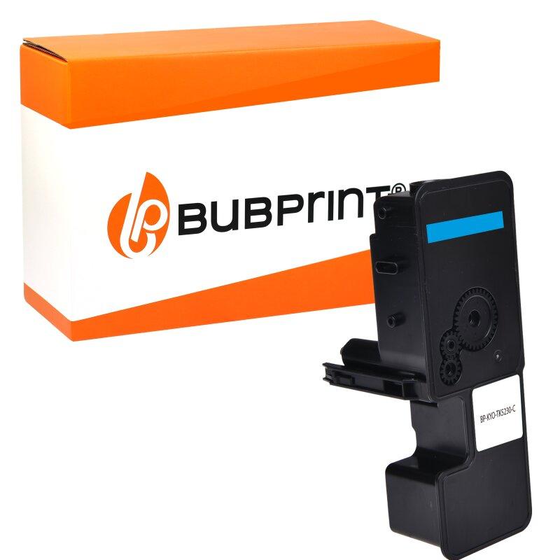 Bubprint Toner kompatibel für Kyocera TK-5230 Cyan