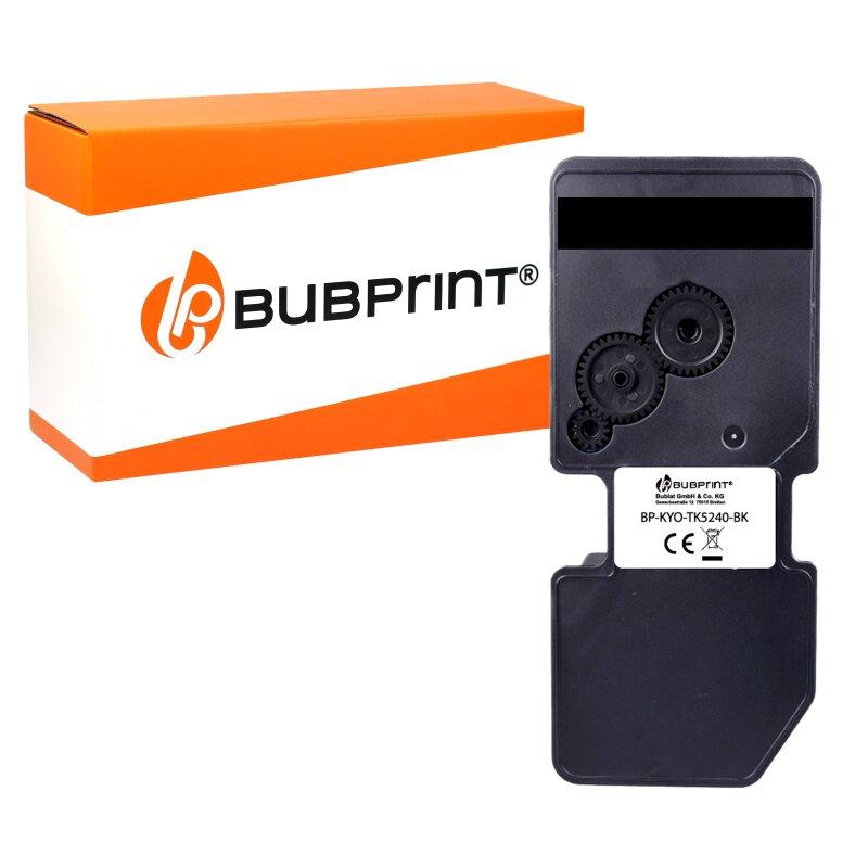 Bubprint Toner kompatibel mit Kyocera TK-5240 TK-5240K 1T02R70NL0 Schwarz BK Black