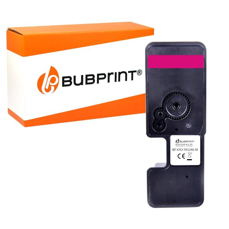 Bubprint Toner kompatibel mit Kyocera TK-5240 TK-5240M 1T02R7BNL0 Magenta