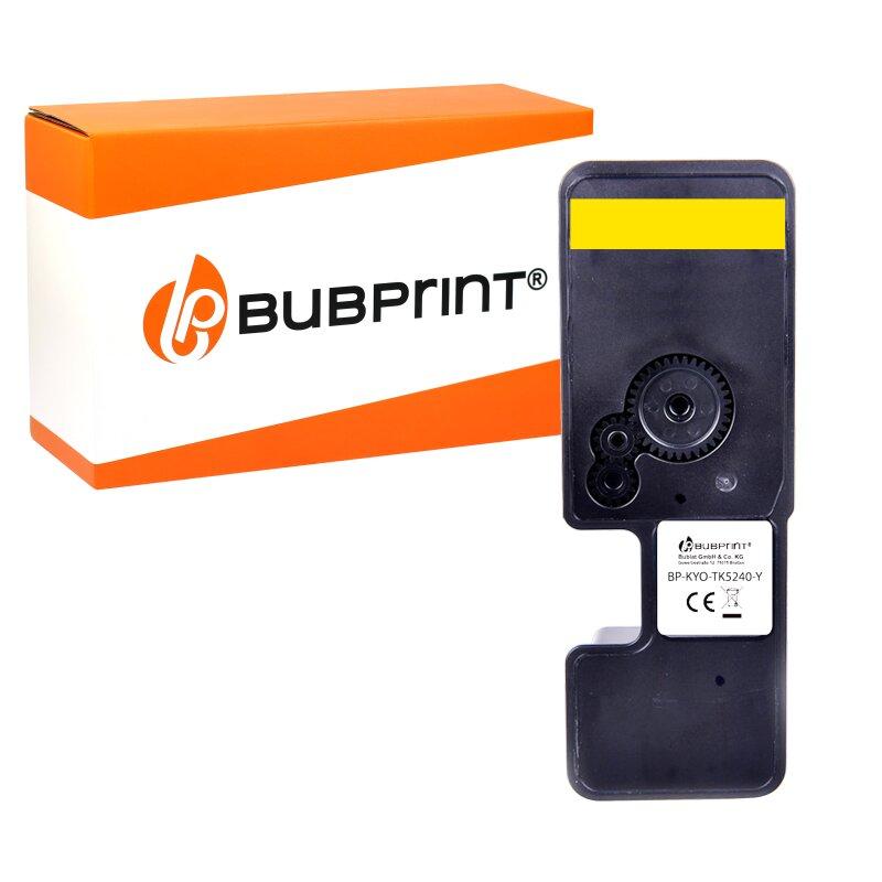 Bubprint Toner kompatibel mit Kyocera TK-5240 TK-5240Y 1T02R7ANL0 Gelb Yellow