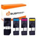 Bubprint 4 x Toner kompatibel mit Kyocera TK-5240 TK5240...