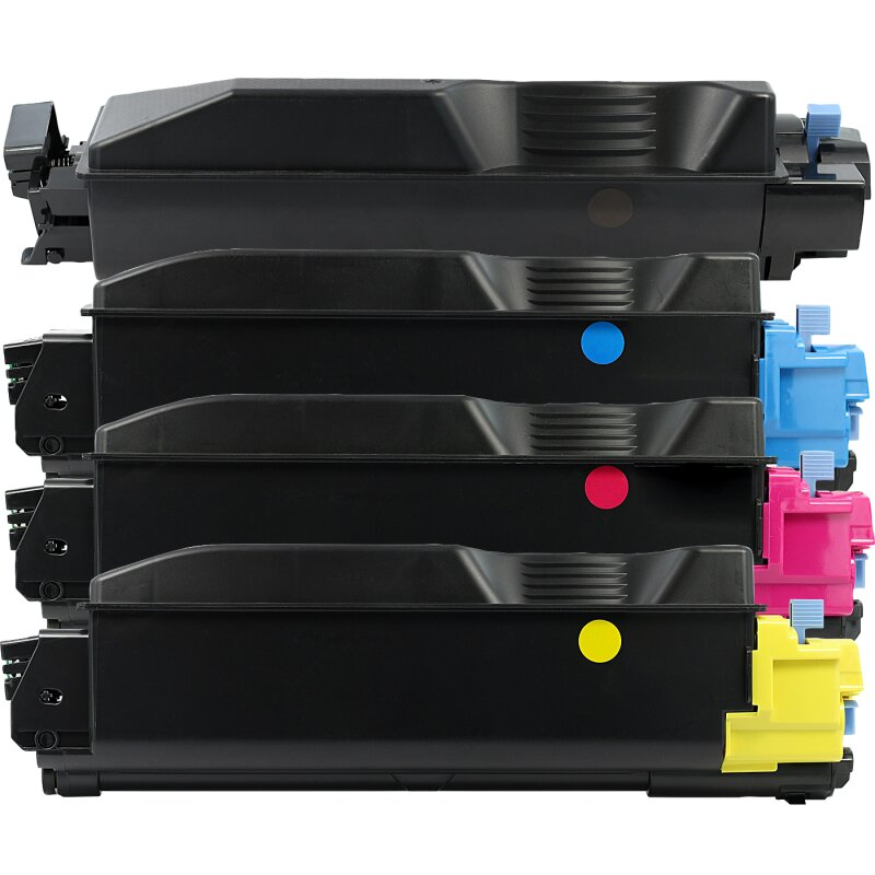 Bubprint 4 Toner kompatibel für Kyocera TK-5140 Ecosys M 6030 cdn 6530 cdn P 6130 cdn