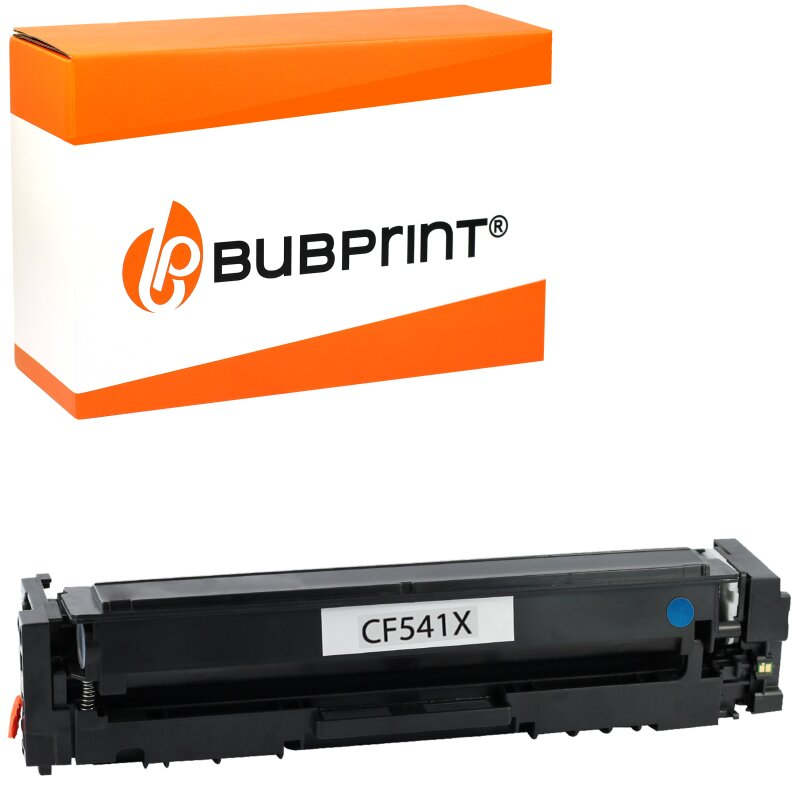 Bubprint Toner kompatibel für HP CF541X Cyan für Color LaserJet Pro M280 M281