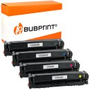 Bubprint Toner kompatibel für HP CF540X - 543X 4er...