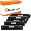 Bubprint Toner kompatibel für HP CF540X - 543X 5er...