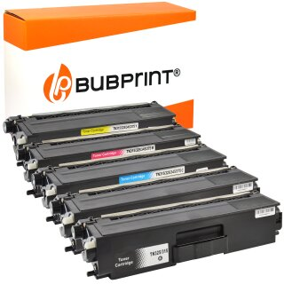 5 Toner kompatibel für Brother TN-325 TN-320 TN-328 SET