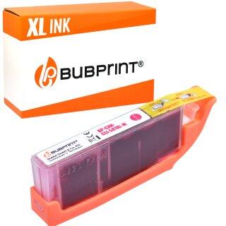 Bubprint Druckerpatrone kompatibel für Canon CLI-581 XL Magenta