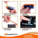 Kompatibel für Canon PGI-580 CLI-581 Pixma TR8550 Pixma TS6250 Pixma TS6350 TS8250 TS9550 TR7550 TS705 5er Set von Bubprint