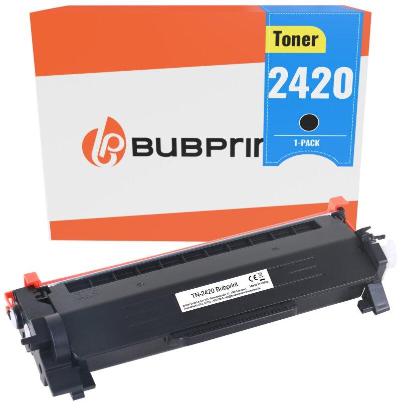 Bubprint Toner kompatibel für Brother TN-2420 Seitenleistung 3000 Schwarz