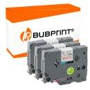 Bubprint 3 schriftbänder Kompatibel für Brother...