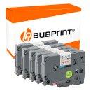 Bubprint 5 schriftbänder Kompatibel für Brother...