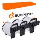 Bubprint 3 Etiketten kompatibel für Brother DK-44205...