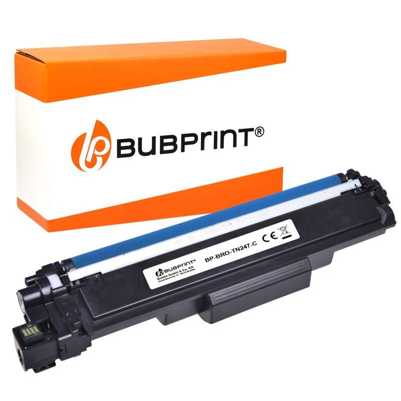 Bubprint Toner kompatibel für Brother TN-247 Cyan