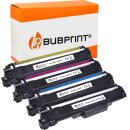 Bubprint 4 Toner kompatibel für Brother TN-247 Set