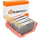 Bubprint 5 Druckerpatronen kompatibel für HP 364 XL...