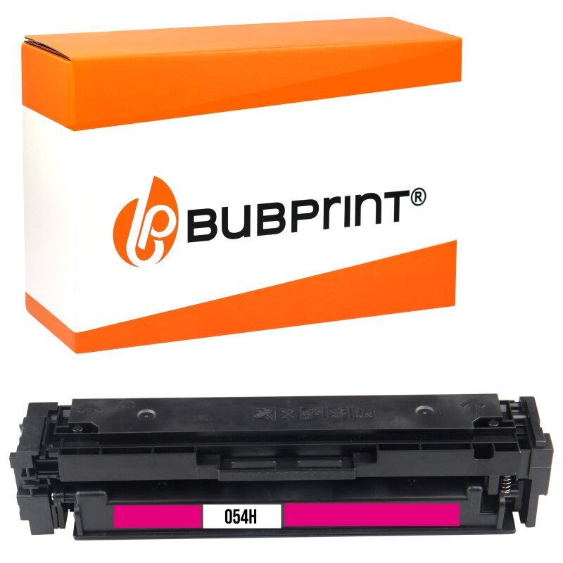 Bubprint Toner kompatibel für Canon 054H Magenta